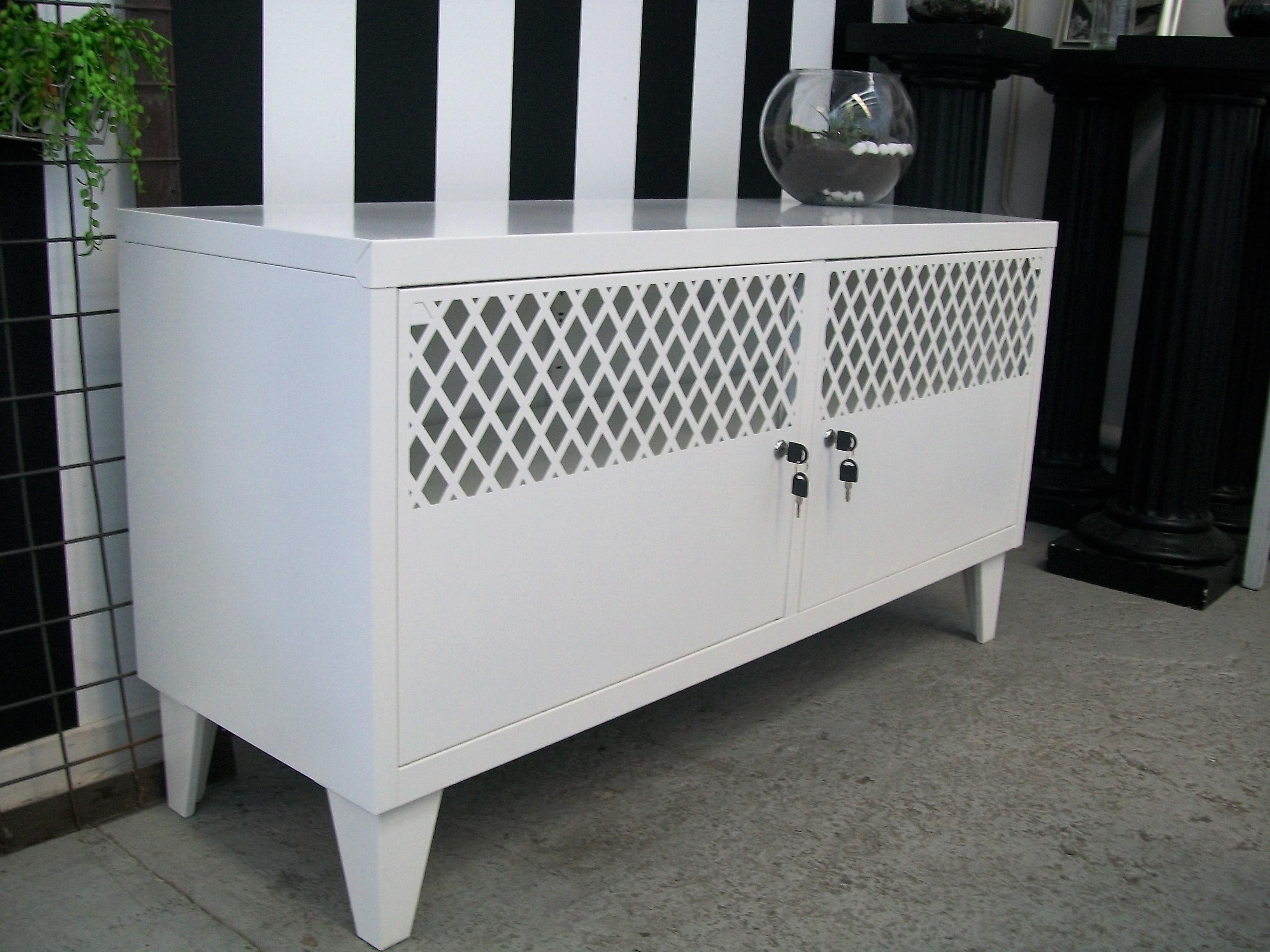 ... Locker White TV Cabinet ...